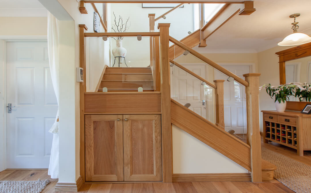 Jarrods staircases carpentry beautifully bespoke for Enclosed staircase design