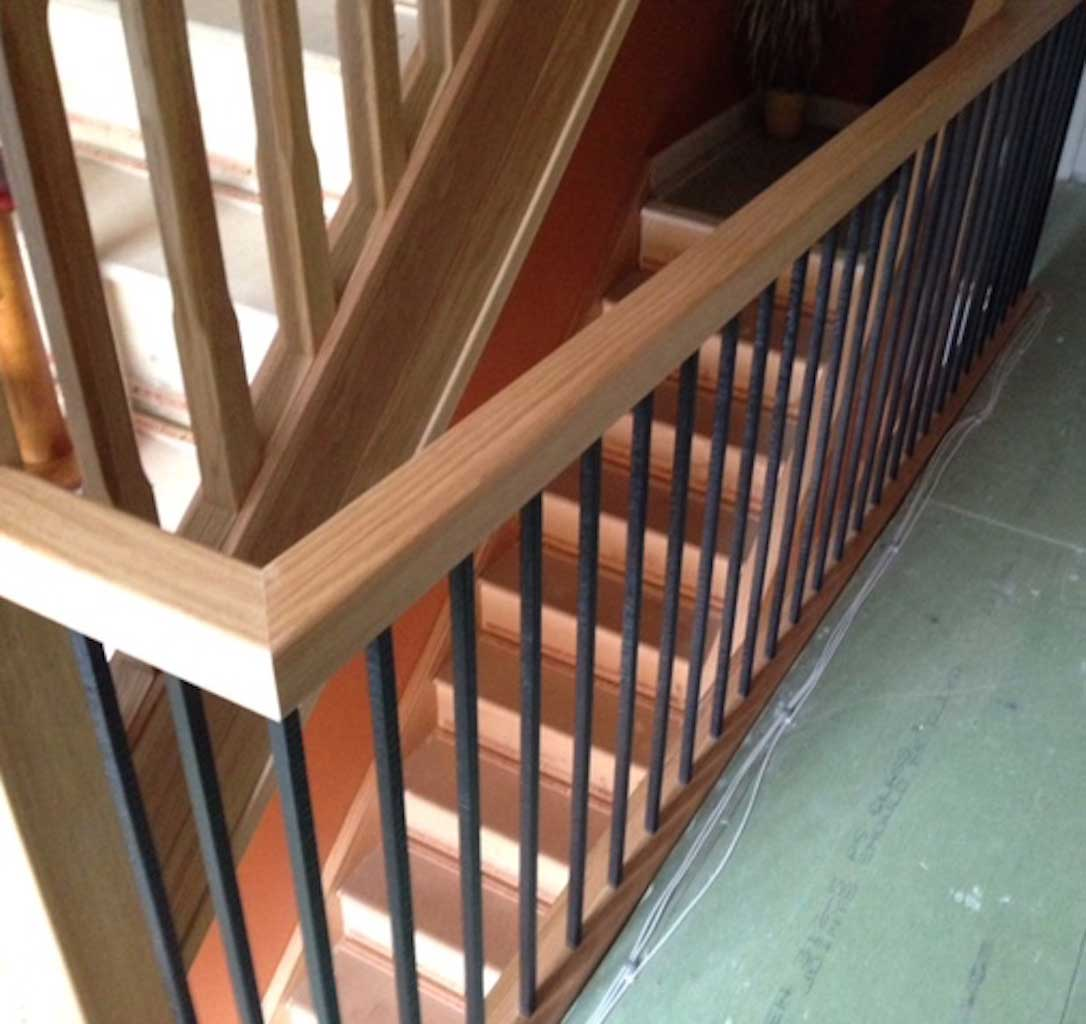 Staircases: Traditional Metal Staircases With Stair Spindles