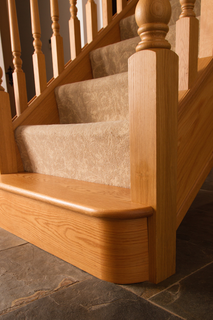 Feature Steps And Under Stair Storage Jarrods Bespoke Staircases
