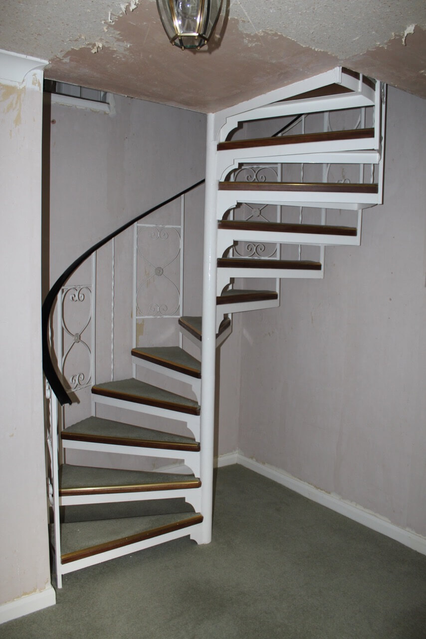 Renovating Spiral Staircases before image