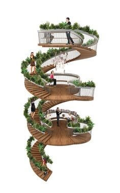 The Living Staircase Design