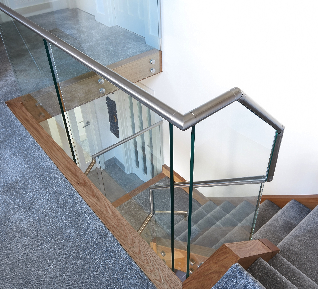 Hands Staircase Customer Story bannister