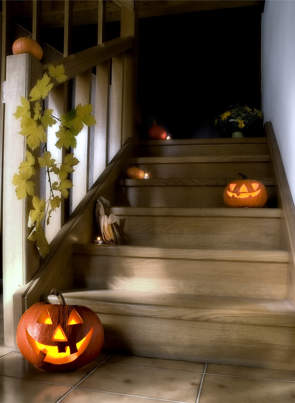 Halloween staircase