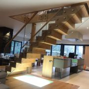 Jarrods bespoke floating staircase