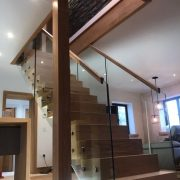 luxury bespoke floating staircase