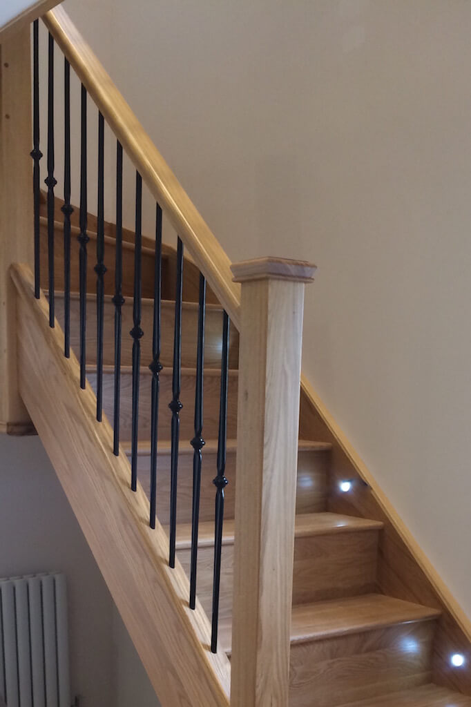 Traditional Metal Staircases With Stair Spindles Jarrods