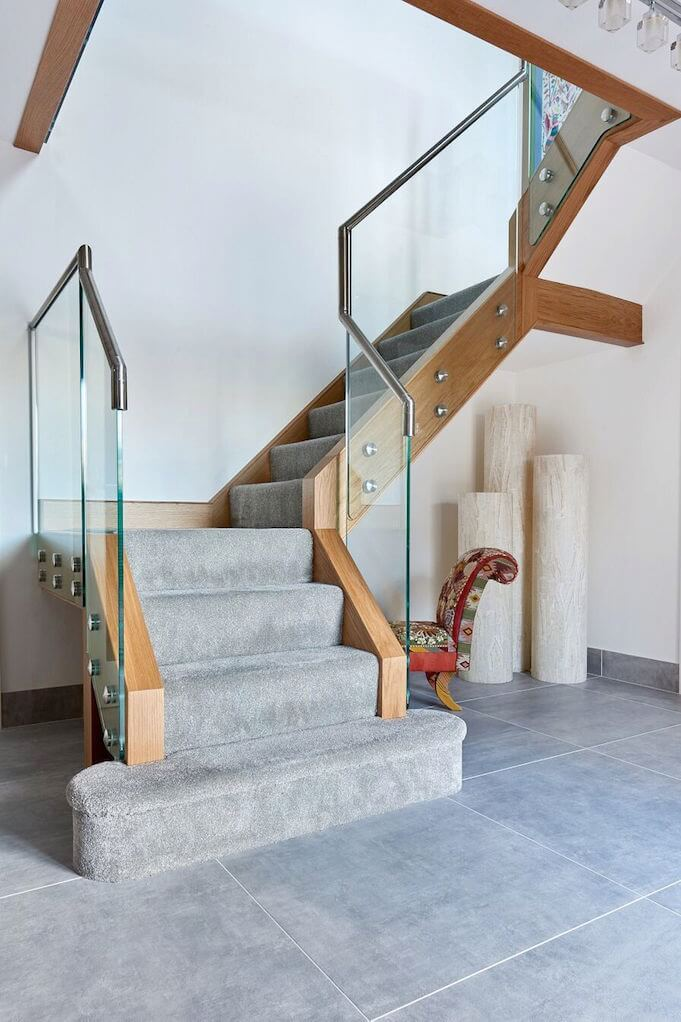 Glass Staircases Contemporary Modern Jarrods