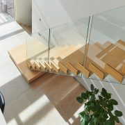 floating staircase home design